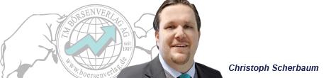 Börsenexperte und Autor Christoph A. Scherbaum