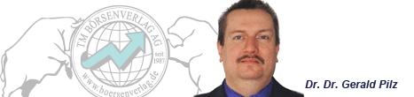 Börsenexperte und Autor Dr. Dr. Gerald Pilz
