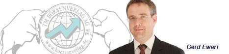Börsenexperte und Autor Gerd Ewert