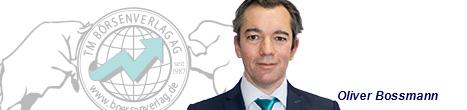 Börsenexperte und Autor Oliver Bossmann