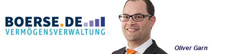 Börsenexperte und Autor Oliver Garn