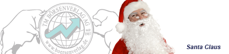 Börsenexperte und Autor Santa Claus