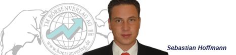 Börsenexperte und Autor Sebastian Hoffmann