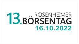 Rosenheimer Börsentag 2021 coronabedingt abgesagt