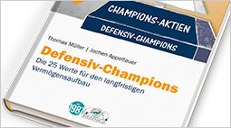 """Das Buch """"Defensiv-Champions"""" jetzt in der 11. Auflage!"""