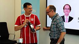 Champions-Trader feiern Bayern-Sieg beim HVB-Kick & Trade-Event
