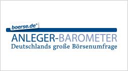 boerse.de-Anleger-Barometer: Ihre Meinung lohnt sich!