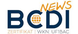 Neues BCDI-Zertifikat (WKN UF1BAC) ab sofort handelbar
