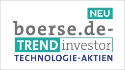 Neues Allzeithoch beim boerse.de-Trendinvestor Technologie-Aktien