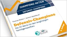 """Das Buch """"Defensiv-Champions"""" jetzt in der 8. Auflage!"""