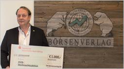 1000 Euro Spende