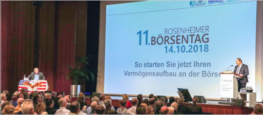 Das war der 11. Rosenheimer Börsentag