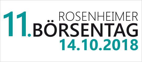 11. Rosenheimer Börsentag: Experten-Interviews jetzt online!