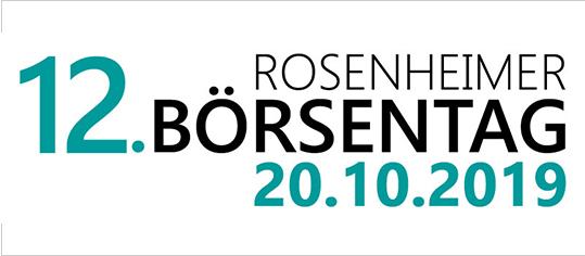 12. Rosenheimer Börsentag: Impressionen, Besucherstimmen und TV-Beitrag jetzt online!