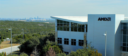 AMD-Werk in Austin, Texas.