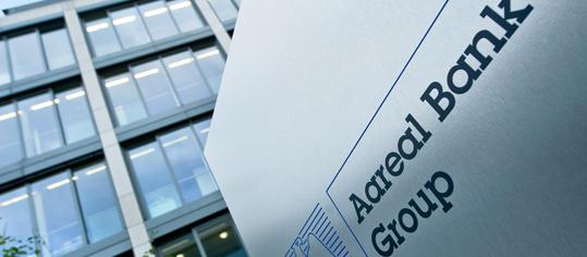 Aussenaufnahme des Firmengebäudes der Aareal Bank