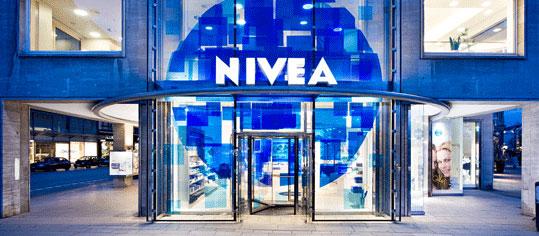 Außenaufnahme eines Beiersdorfer Firmengebäudes