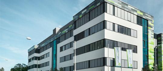 BioNTech Unternehmenszentrale in Mainz.
