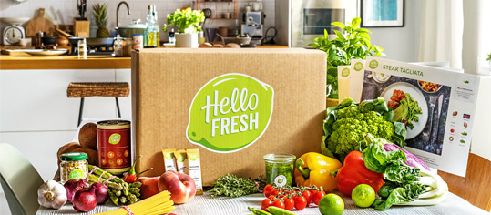 HelloFresh-Kochbox.