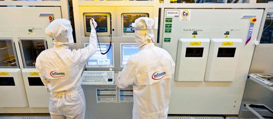 Infineon-Aktie unter 50-Tage-Linie