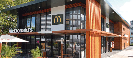 McDonald's mit Gewinnsprung - Corona-Geschäftseinbruch überwunden