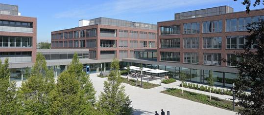 Außenaufnahme eines RWE Firmengebäudes