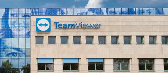 Aussenaufnahme des Firmengebäudes der TeamViewer AG.