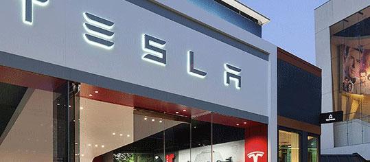 Tesla-Aktie unter 50-Tage-Linie