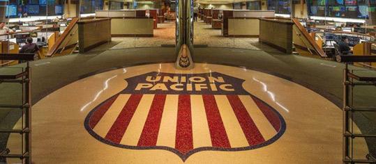 Eingangsbereich von UnionPacific