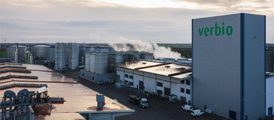 Verbio Produktionsstandort Zörbig