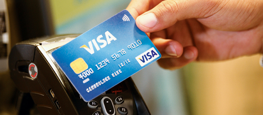 Visa-Aktie über 100-Tage-Linie