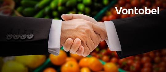 Handschlag zweier Männer