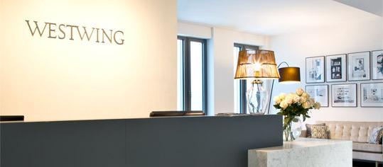 Büroräume der Westwing Group in München.