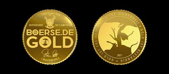 boerse.de Goldmünzen