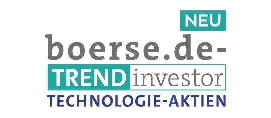 Der neue boerse.de-Trendinvestor Technologie-Aktien