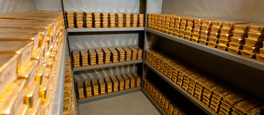 Zentralbanken stützen Goldnachfrage