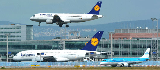 Lufthansa setzt Steigflug im Oktober fort