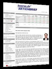 boerse.de-Aktienbrief Abobereich
