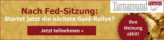 Nach der Fed-Sitzung: Startet jetzt die nächste Gold-Rallye?