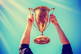 Bild von einem Pokal
