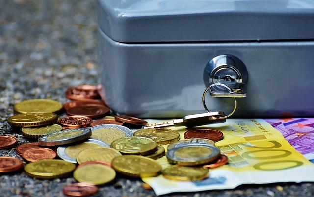 Bild zeigt eine Geldkasse