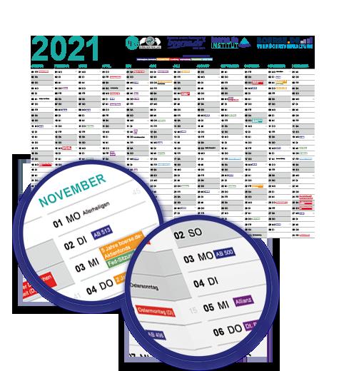 Boersenkalender 2021